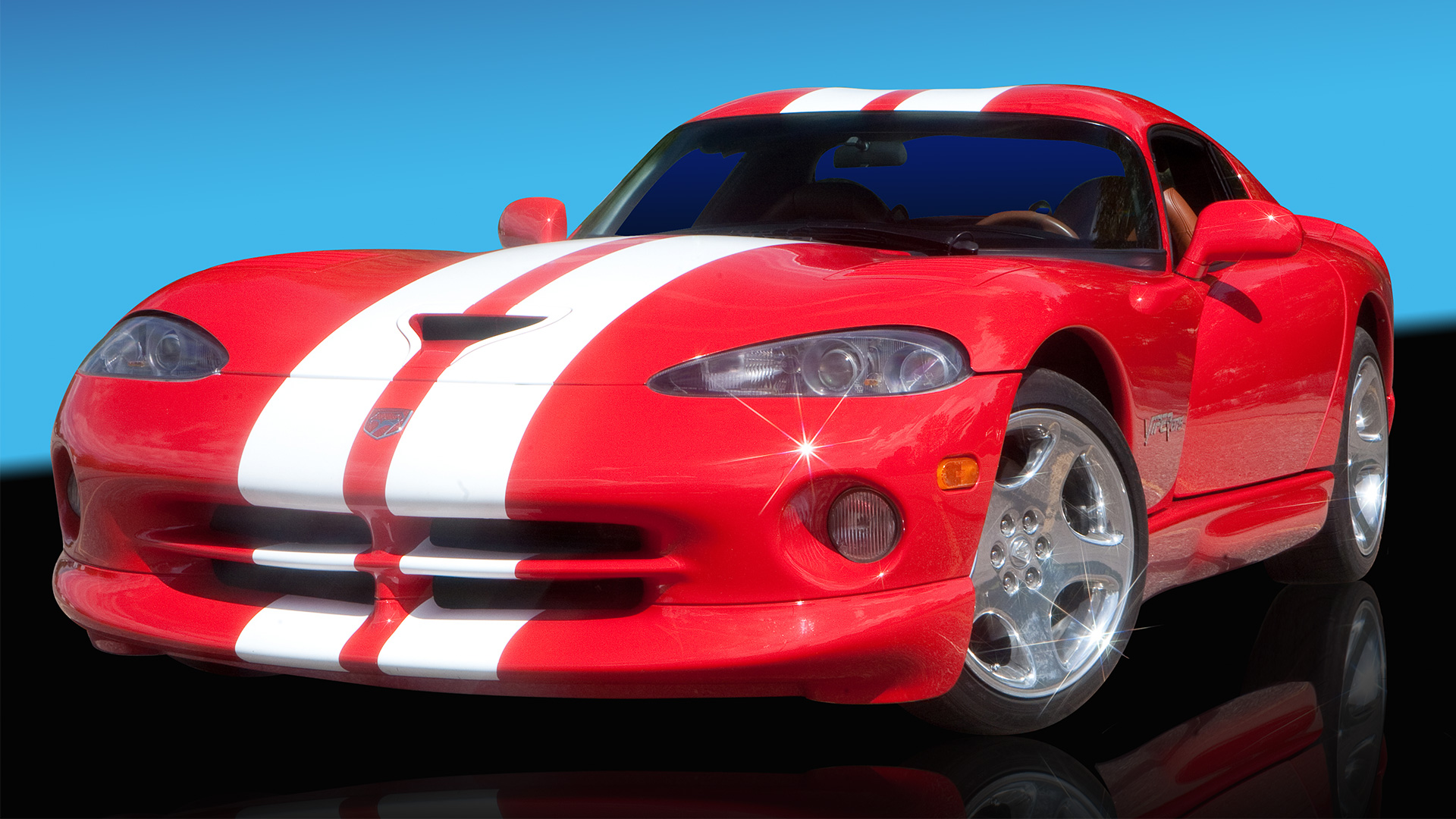 Ray Snyder's Red Dodge Viper
